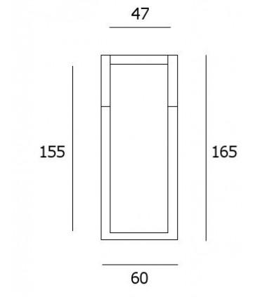 Heurtoir de porte Inox