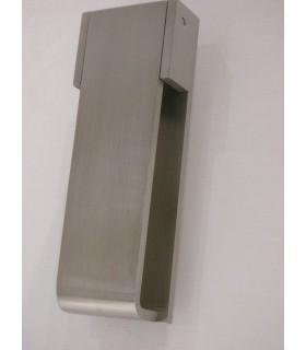 Heurtoir rectangulaire marteau de porte en Inox