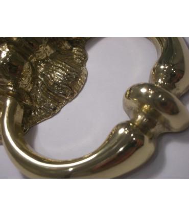 Heurtoir de porte tête de Lion détail