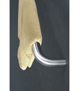 Porte serviette en inox diamètre 16 ou 19 mm série Tonda