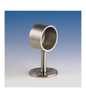 Support borgne droit pour Ø 25 mm