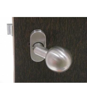 Poignée bouton rond
