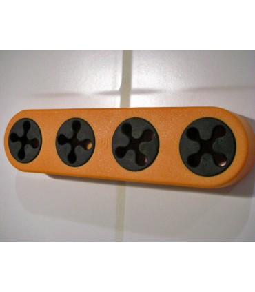 Accrche torchon série Grip orange