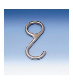 Crochet 16 mm pour barre porte ustensiles