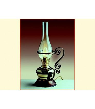 Lampe de table fer forgé