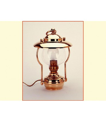 Lampe de table a chapeau