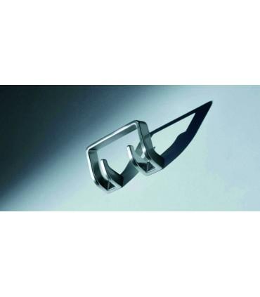 Patère design série Square PA00276 Designé par BERT & BERT pour Confalonieri.