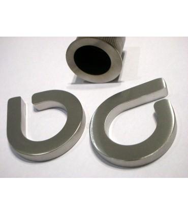 Set de deux poignées série Sly anneau ouvert