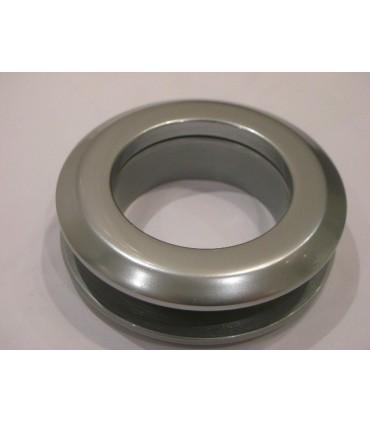 Poignée anneau ouvert chromé mat