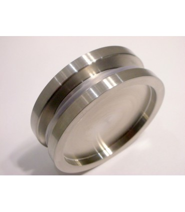 Poignée anneau inox borgne