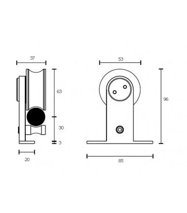 Kit roller série Asystem