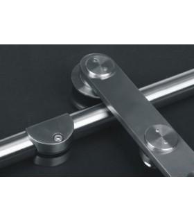 Kit roller série B system pour porte coulissante en verre