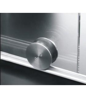 Kit roller série Clear system pour porte coulissante en verre