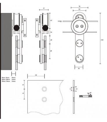 Kit roller série Gravity system