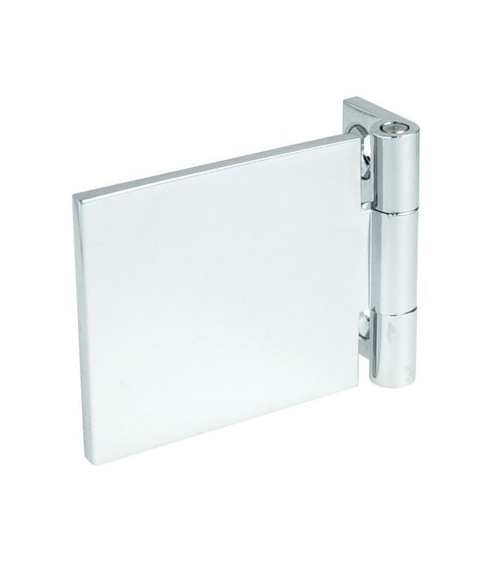 Charnière mur / verre