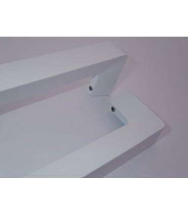 Poignée série Tri-d blanc mat