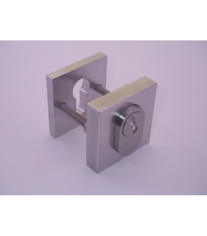 Rosace de protection carrée inox aisi 304