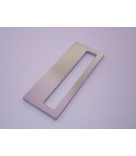 Deux poignées série Sly rectangulaires 1 découpe à coller