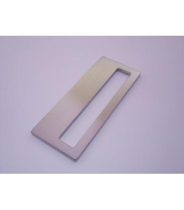 Set de deux poignées série Sly rectangulaires 1 découpe