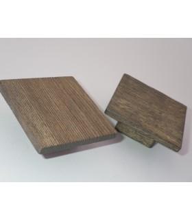 Poignée et bouton de meuble en bois naturel Nature