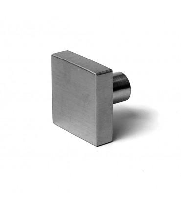Bouton carré inox brossé série i.437