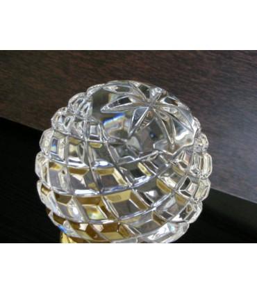 Boule d'escalier tbl12 en Cristal ciselé main