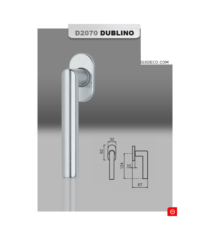 Poignée de fenêtre série Dublino