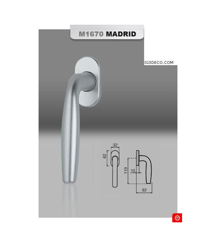 Poignée de fenêtre série Madrid