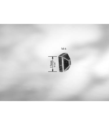 ECROU FORGE POINTE DE DIAMANT M6