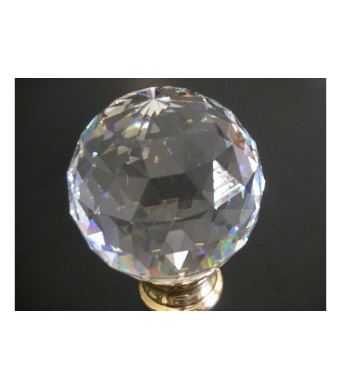 Boule de rampe d'escalier cristal de SWAROVSKI