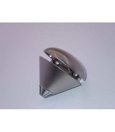 Support d'étagère série Trottola nickel satiné