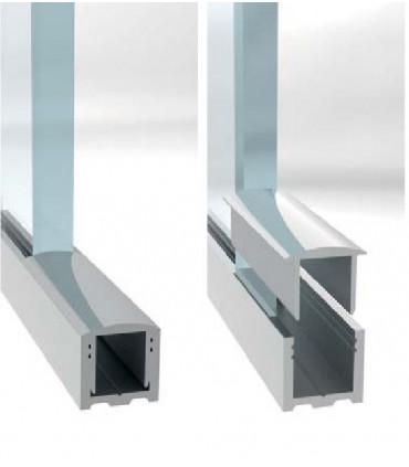 Profil aluminium avec capot