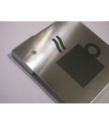 Pictogramme inox 150 x 150 mm