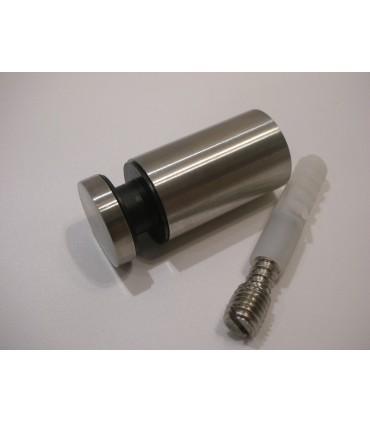 Fixation ponctuelle ronde 25 mm pour volume en verre