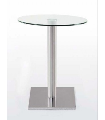 Pied de table central base carrée Ø 450 x 450 mm