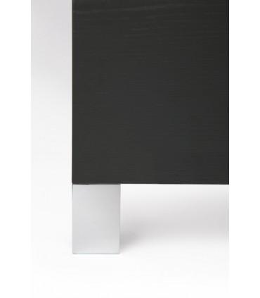 Pied de meuble chromé brillant ht.91 mm