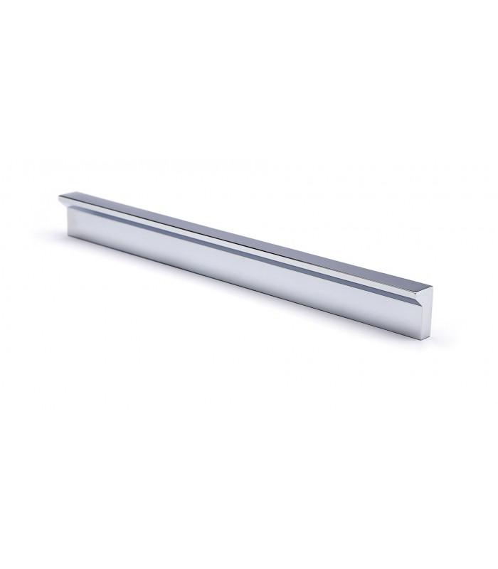 Poignée série Angle chromé brillant
