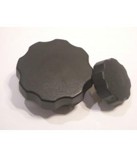 Bouton nylon noir