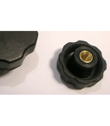 Bouton nylon insert laiton