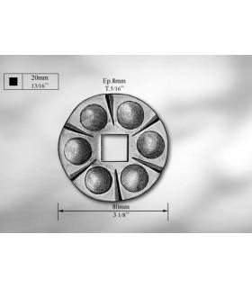 Platine cache-scellement CS203