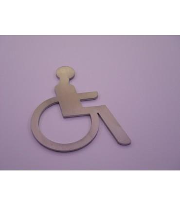 Pictogrammes découpés handicapé Ht.120 mm