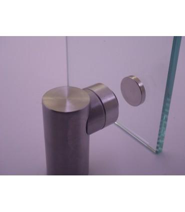 Butée arrêt magnétique pour porte verre