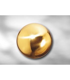 Sphère laiton Ø 75, 100 & 130 mm pour décoration d'escalier