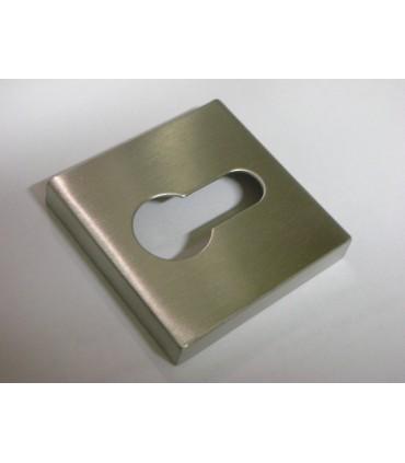 Rosace carrée pour entrée de clé I