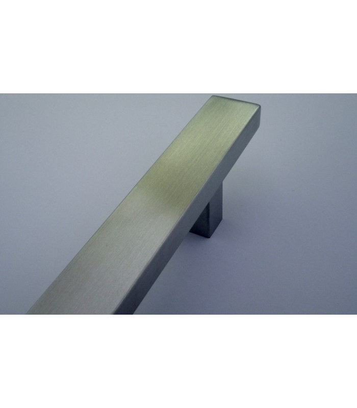 Poignée rectangulaire série 006 inox brossé