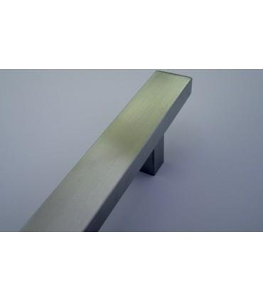 Poignée rectangulaire en inox série 006