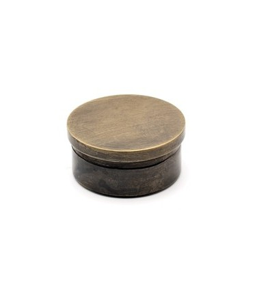 Bouchon plat bronze