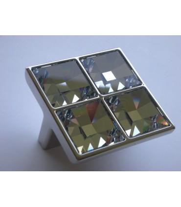 Poignée et bouton Cristal