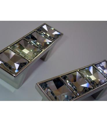 Poignée et bouton de meuble Cristal par Bosetti Marella