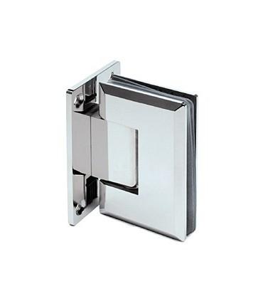 Charnière 90° pour porte de douche en verre